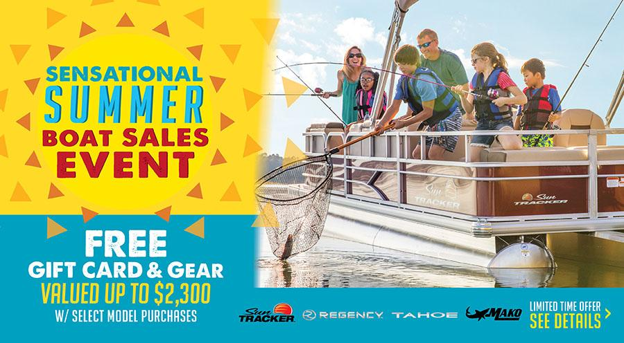 2018 Sensational Summer Boat Sales Event